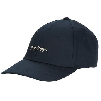 Accessories Dame Kasketter Tommy Hilfiger SIGNATURE CAP Marineblå
