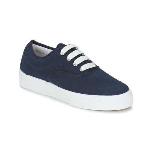 Sko Dame Lave sneakers Yurban PLUO Marineblå
