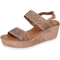 Sko Dame Sandaler Femme Plus Sandaler BJ895 Brun