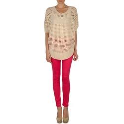 Smalle jeans Vero Moda WONDER NW JEGGING - RASBERRY - NOOS