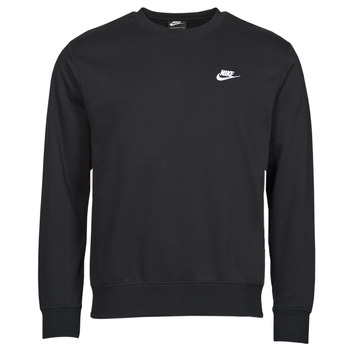 textil Herre Sweatshirts Nike NIKE SPORTSWEAR CLUB FLEECE Sort / Hvid