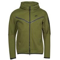 textil Herre Sportsjakker Nike NIKE SPORTSWEAR TECH FLEECE Grøn / Sort