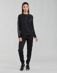 textil Dame Træningsbukser Nike W NSW PK TAPE REG PANT Sort