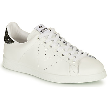 Sko Dame Lave sneakers Victoria TENIS PIEL Hvid / Sølv