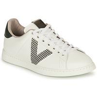 Sko Dame Lave sneakers Victoria TENIS VEGANA GAL Hvid / Grå