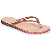 Sko Dame Klipklapper  Havaianas SLIM SPARKLE II Pink