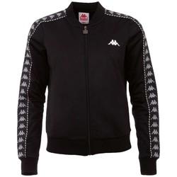 textil Dame Sportsjakker Kappa Imilia Training Jacket Sort