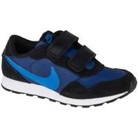 Sko Børn Lave sneakers Nike MD Valiant Psv Sort, Flåde