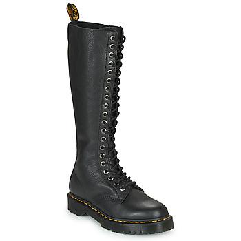 Sko Dame Chikke støvler Dr Martens 1B60 BEX Sort