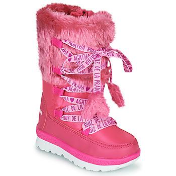 Sko Pige Vinterstøvler Agatha Ruiz de la Prada APRESKI Pink