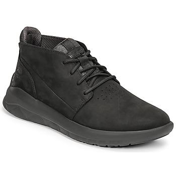 Sko Herre Høje sneakers Timberland BRADSTREET ULTRA PT CHK Sort