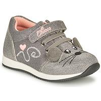 Sko Pige Lave sneakers Chicco FLEXY Sølv