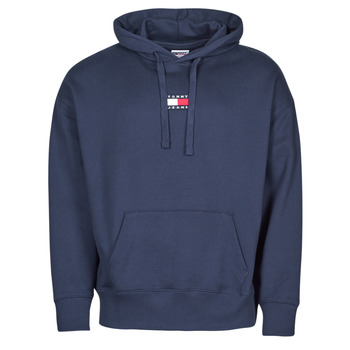 textil Herre Sweatshirts Tommy Jeans TJM TOMMY BADGE HOODIE Marineblå