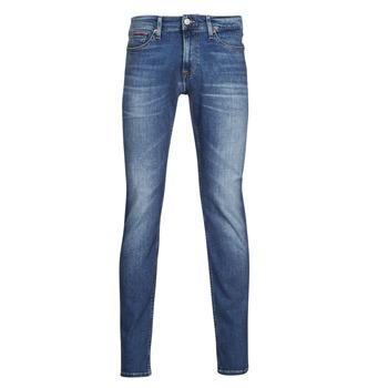 textil Herre Smalle jeans Tommy Jeans SCANTON SLIM AE136 MBS Blå / Medium