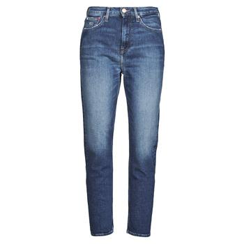 textil Dame Lige jeans Tommy Jeans IZZIE HR SLIM ANKLE AE632 MBC Marineblå