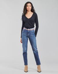 textil Dame Lige jeans Tommy Hilfiger NEW CLASSIC STRAIGHT HW A LEA Blå / Medium