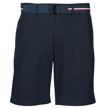 textil Herre Shorts Tommy Hilfiger BROOKLYN LIGHT TWILL Marineblå