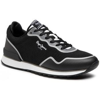 Sko Herre Lave sneakers Pepe jeans Cross 4 Knit Sort