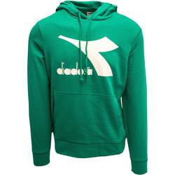 textil Herre Sweatshirts Diadora Big Logo Grøn