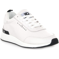 Sko Herre Lave sneakers Richmond BIANCO NAPPA Bianco
