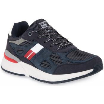 Sko Herre Lave sneakers Dockers 660 NAVY Blu