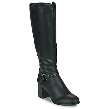 Sko Dame Chikke støvler The Divine Factory LH2080D Sort
