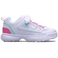 Sko Børn Lave sneakers Kappa Rave MF K Hvid, Pink