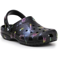 Sko Børn Træsko Crocs Classic Out OF This World II Clog Sort