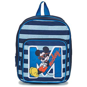 Tasker Dreng Rygsække  Disney SAC A DOS MICKEY 31 CM Marineblå