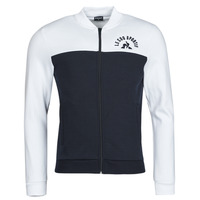 textil Herre Sportsjakker Le Coq Sportif SAISON 2 FZ SWEAT N 1 Marineblå / Hvid