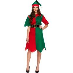 textil Dame Korte kjoler Christmas Shop CS086 Green/Red