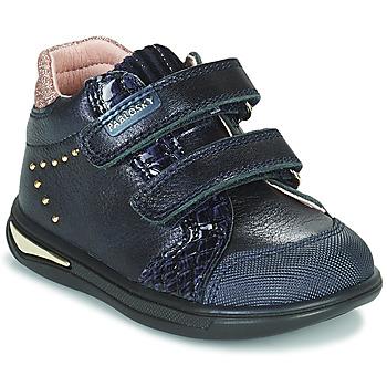 Sko Pige Høje sneakers Pablosky 6122 Marineblå