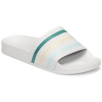 Sko Dame badesandaler adidas Originals ADILETTE Hvid / Grøn / Pink