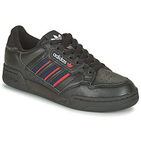 Sko Lave sneakers adidas Originals CONTINENTAL 80 STRI Sort / Blå / Rød