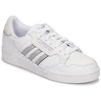Sko Dame Lave sneakers adidas Originals CONTINENTAL 80 STRI Hvid / Sølv