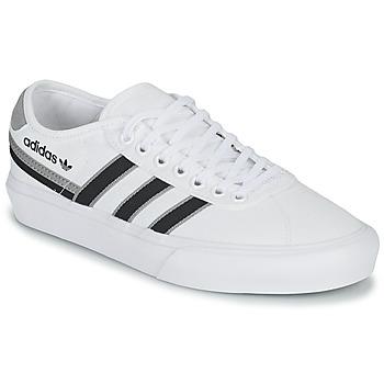 Sko Lave sneakers adidas Originals DELPALA Hvid / Sort