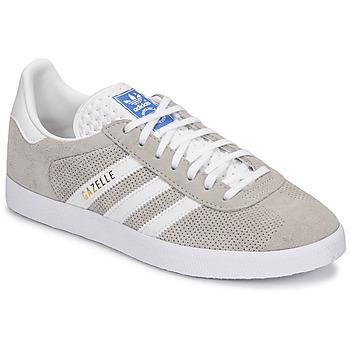 Sko Lave sneakers adidas Originals GAZELLE Grå / Fløde