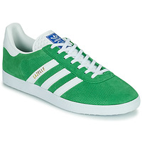 Sko Lave sneakers adidas Originals GAZELLE Grøn