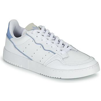 Sko Lave sneakers adidas Originals SUPERCOURT Hvid / Blå
