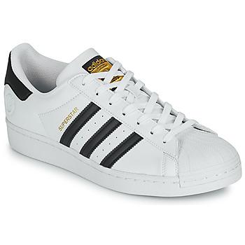 Sko Lave sneakers adidas Originals SUPERSTAR VEGAN Hvid / Sort