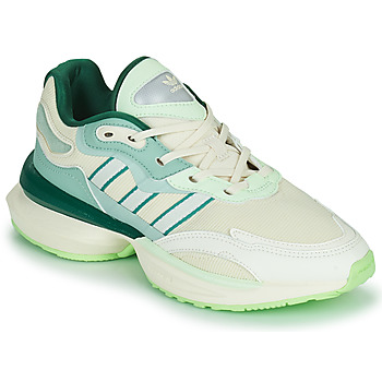 Sko Dame Lave sneakers adidas Originals OZIKENIEL Hvid / Grøn