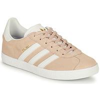 Sko Pige Lave sneakers adidas Originals GAZELLE J Pink