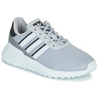 Sko Dreng Lave sneakers adidas Originals LA TRAINER LITE C Grå