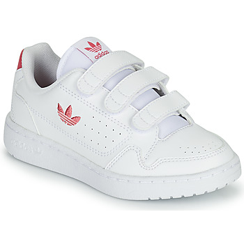 Sko Pige Lave sneakers adidas Originals NY 90  CF C Hvid / Pink