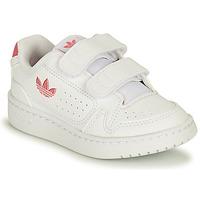 Sko Pige Lave sneakers adidas Originals NY 90 CF I Hvid / Pink