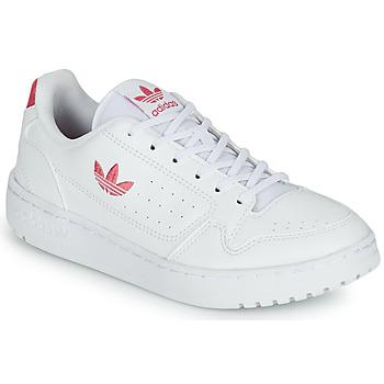 Sko Pige Lave sneakers adidas Originals NY 90 J Hvid / Pink