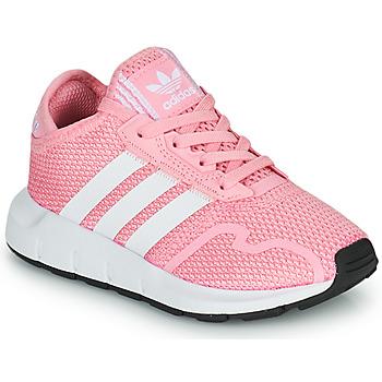 Sko Pige Lave sneakers adidas Originals SWIFT RUN X C Pink