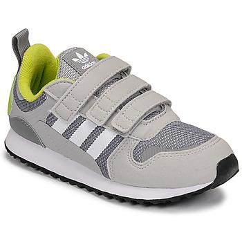 Sko Dreng Lave sneakers adidas Originals ZX 700 HD CF C Grå / Grøn