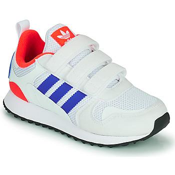 Sko Børn Lave sneakers adidas Originals ZX 700 HD CF C Blå / Hvid / Rød