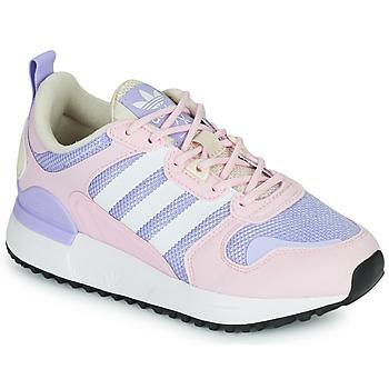 Sko Pige Lave sneakers adidas Originals ZX 700 HD J Pink / Lys